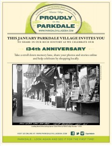 Parkdale Anniversary Poster 4 - Jan 2013