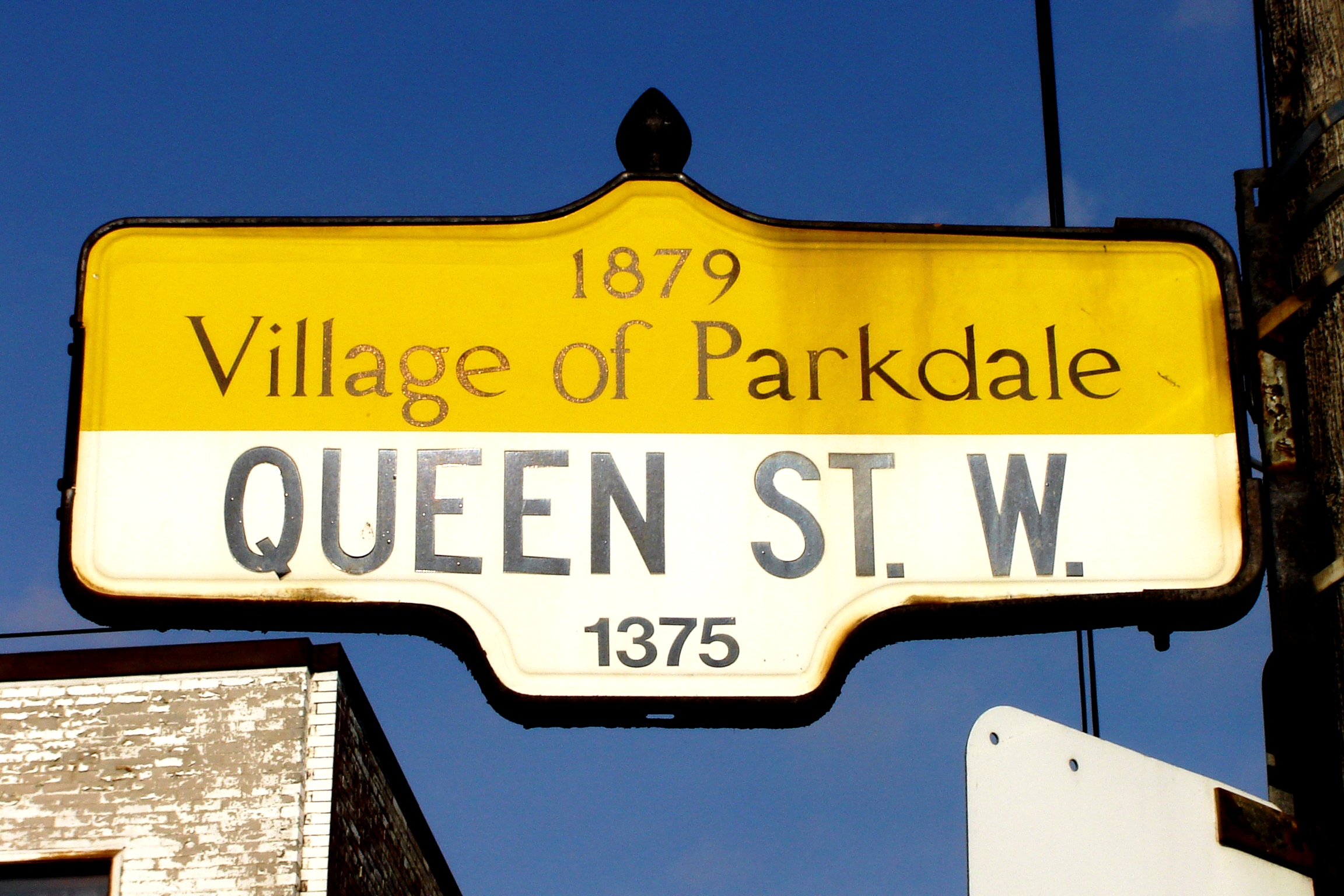 Parkdale Street Sign