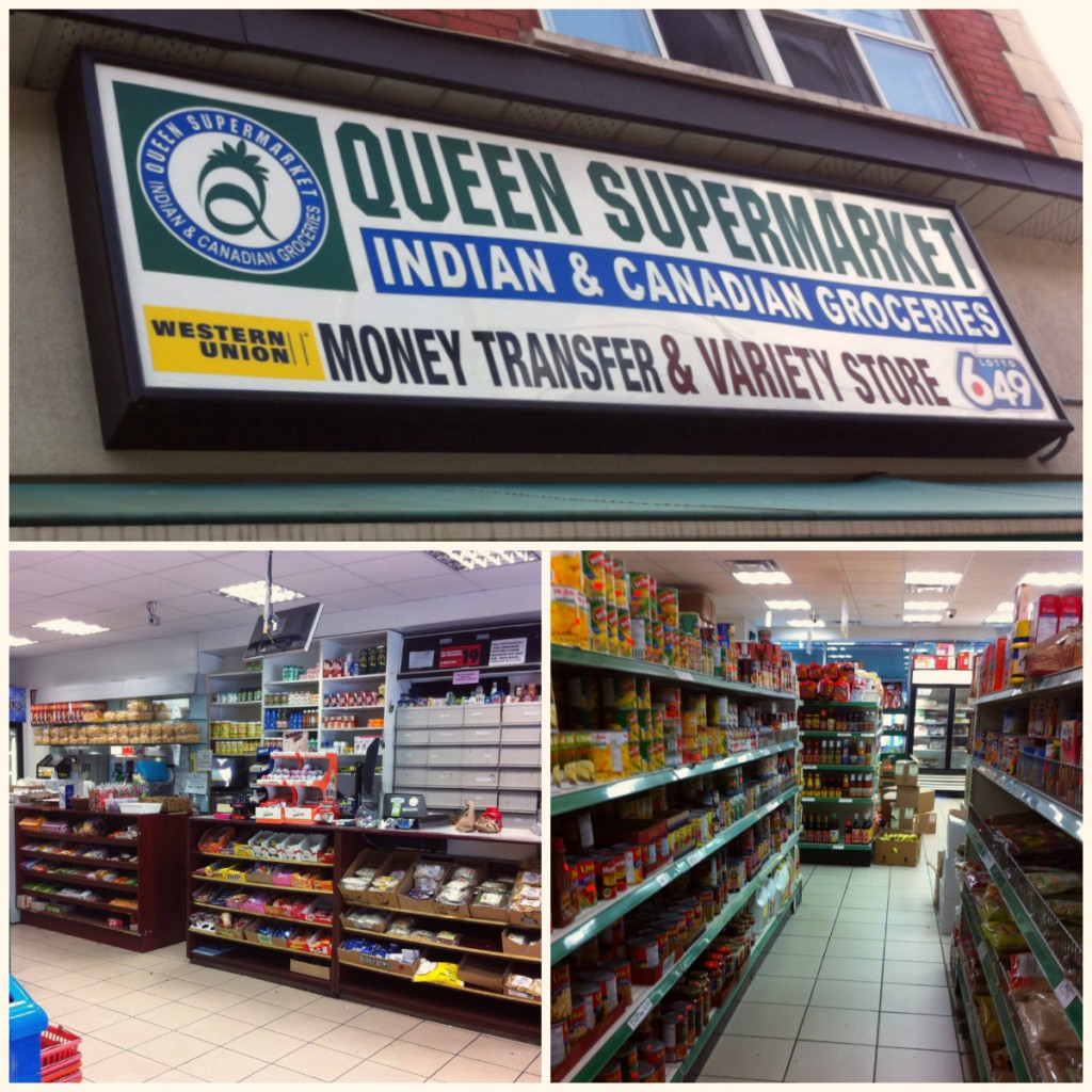 Queen Supermarket collage