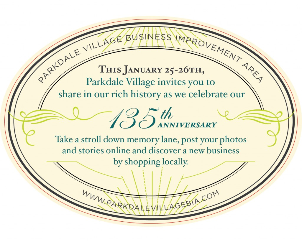 Parkdale Village 135th Anniversary - 2014