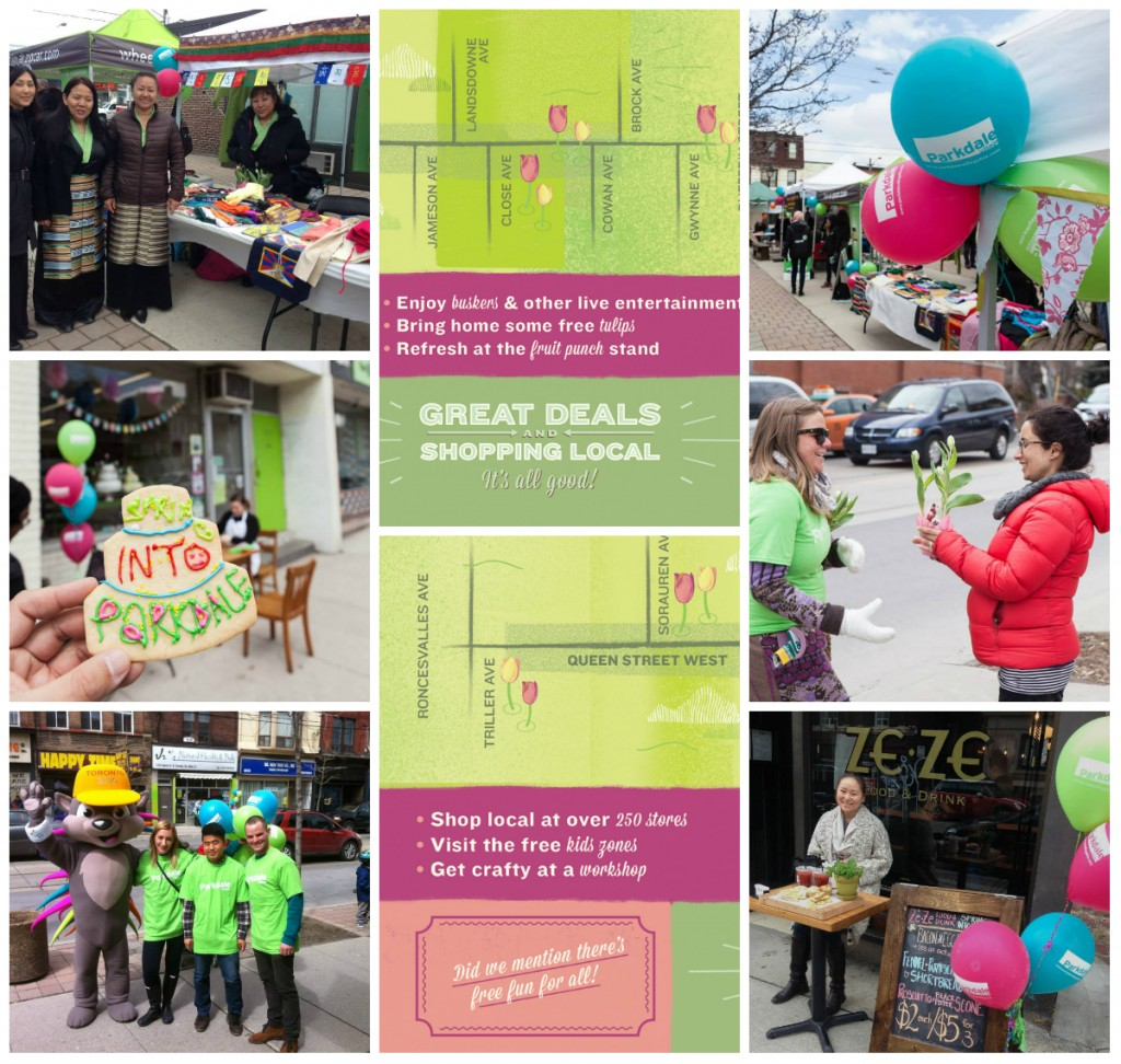 Spring into parkdale 2014 collage
